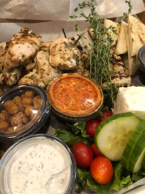 Main and Market - Home Delivery Menu - Mediterranean Box